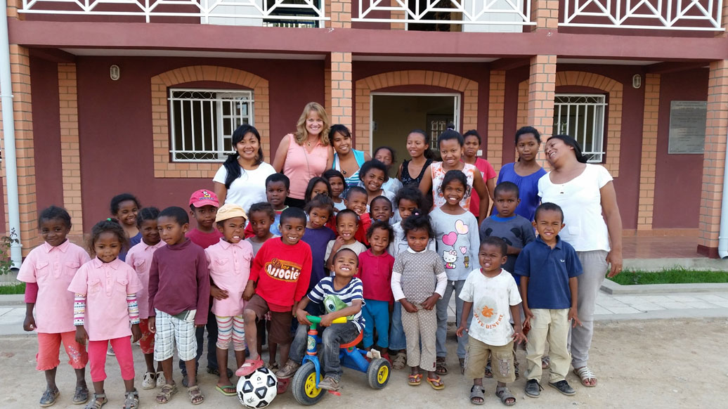 Group photos at Topaza Orphanage